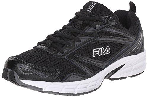 Fila Women's Royalty-W Running Shoe, Black/Castlerock/White, 6.5 M US