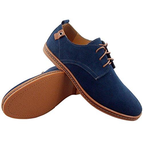 Dadawen Men S Leather Oxford Shoe Usaaddress