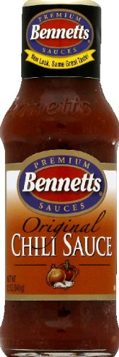 Bennetts Chili Sauce 12 fl oz (Pack of 12)