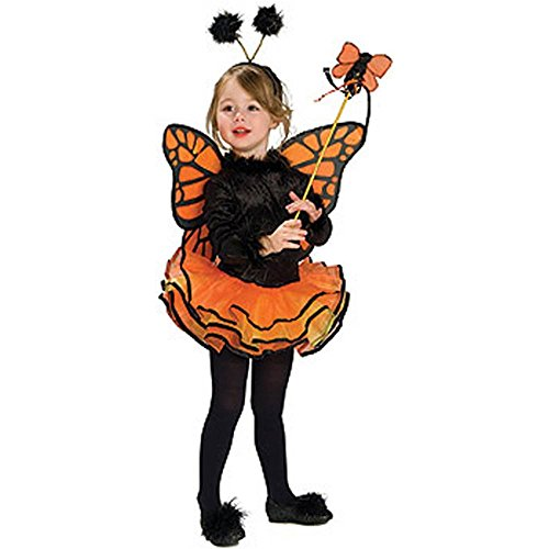 Orange Butterfly Toddler Costume image