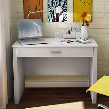 White Laptop Desk