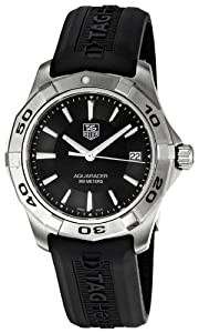 TAG Heuer Men's WAP1110.FT6029 Aquaracer Black Watch from TAG Heuer