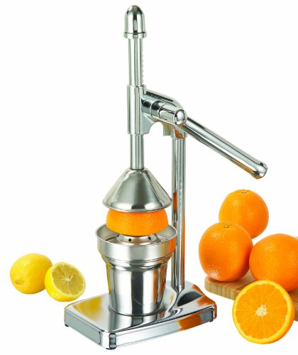 Citrus Juicer Lever Juice Extractor Chromed from TP-Products