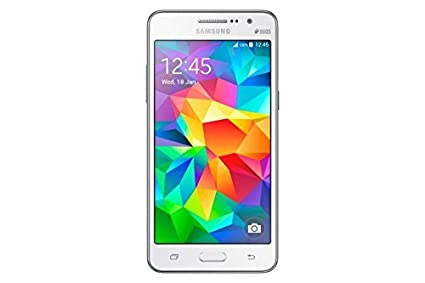 Samsung Galaxy Grand Prime G530H/DS Factory Unlocked Phone - Retail Packaging - White