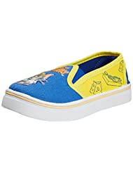 Tom And Jerry Boys Mischevious Canvas Boat Shoes