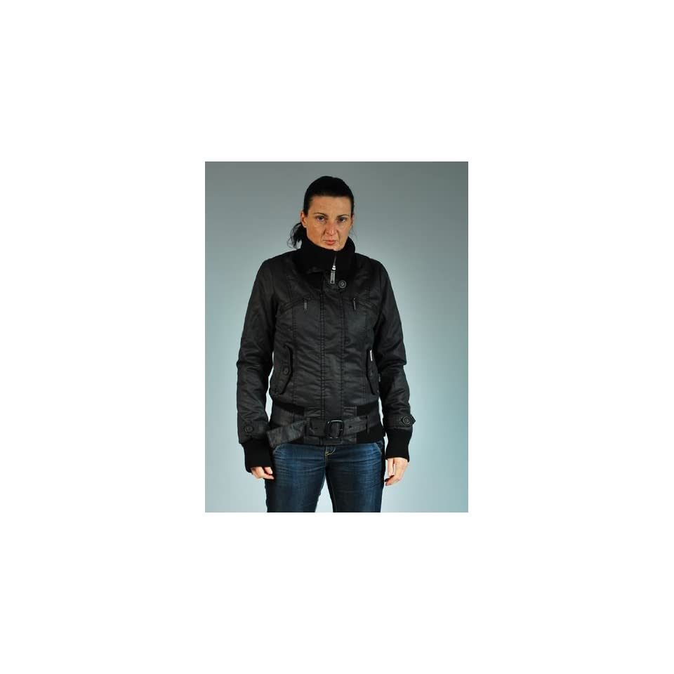 Khujo Jacke Damen Mantel Lissy III Plain mud braun on PopScreen