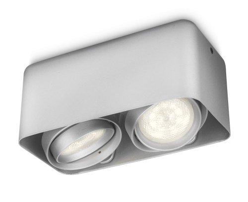 Philips-myLiving-Afzelia-LED-Aufbauspots-EEK-A-2-flammig-aluminium-532024816