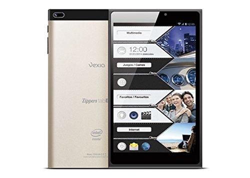 "Vexia Zipper Tab 8 Tablette Tactile 8"" (Intel Atom Z2580 1GB de RAM 16GB Android 4,2.2 Jelly Bean Noir)"