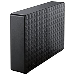 Seagate HDD 外付けハードディスク 2TB USB3.0 テレビ録画対応 Expansion SGD-FNX020UBK