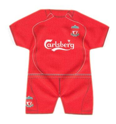 Liverpool FC Mini Kit – Home – Football Gifts