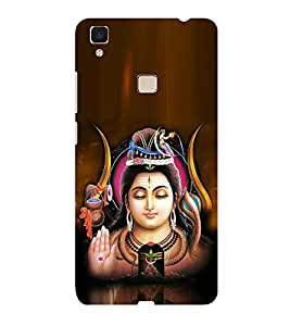 ifasho Lord siva Back Case Cover for Vivo V3