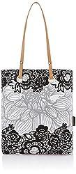 Kanvas Katha Women's Tote Bag (White) (KKST/AMZ/06W)