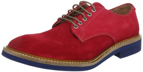 SELECTED HOMME Sel Theo Suede Lace-Ups Mens Red Rot (Red) Size: 8 (42 EU)