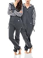 ZIPUPS Mono-Pijama Africana Cool (Gris)