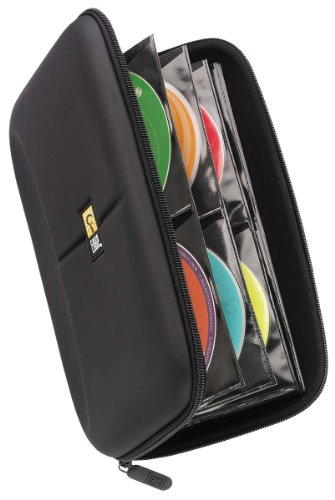 Case Logic CDE-48 48 Capacity Heavy Duty CD Wallet, Black (Movie Case Storage compare prices)
