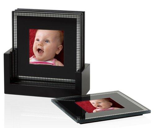 Foto-Untersetzer Erno Calw Untersetzer 4x7,5x7,5 Acryl-u. Glasfotorahmen