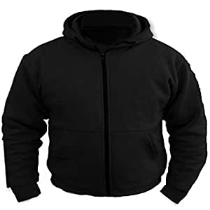 bikers gear uk motorradjacke mit kapuze hoodie hoody. Black Bedroom Furniture Sets. Home Design Ideas