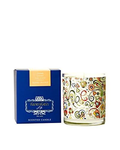 Karen Klein Life Florentine 10.25-Oz. Candle, Cedar/Calla Lily