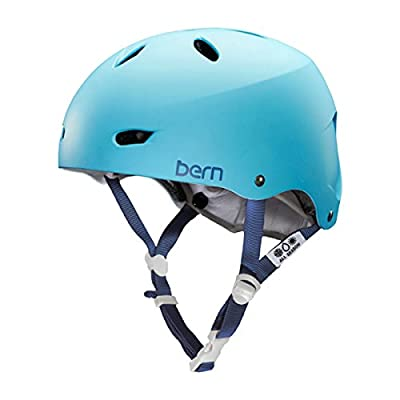 Bern Matte Bluebird 2015 Brighton Thin Shell-EPS Foam Womens MTB Helmet from Bern