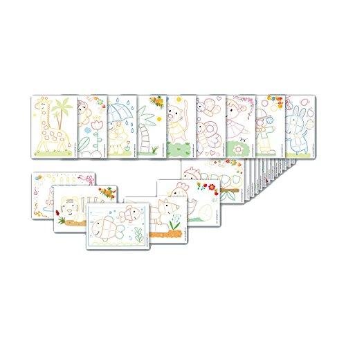 playmais card set farbig 24 karten zum bekleben. Black Bedroom Furniture Sets. Home Design Ideas