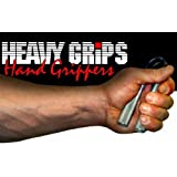 Heavy Grips Hand Gripper, 200lb Advancedby Heavy Grips