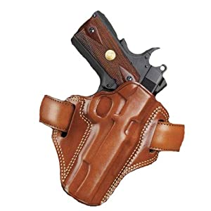 Galco Combat Master Belt Holster for S&W L FR 686 2 1/2-Inch (Tan, Left-hand)