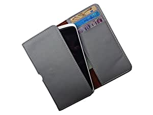 ATV PU Leather Cloud Grey Pouch Case Flip Cover For LG Nexus 5