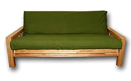 Canapé lit Vienna , housse Vert, 200x140x30 cm