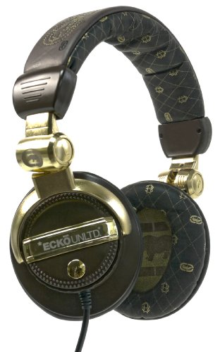 Marc Ecko Unltd Eku-Frc-Gld Force Over-The-Ear Headphones (Gold)