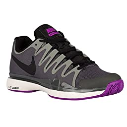 Nike Womens Zoom Vapor 9.5 Tour Tennis Shoes Midnight Fog/Phantom/Vivid Purple 631475-001 Size 8