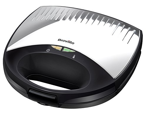 Breville VST037 2-Slice Sandwich Toaster, Black by Breville