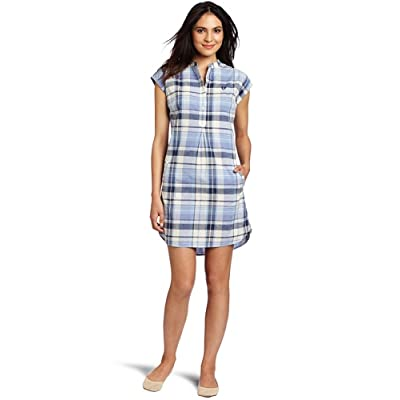 Fred Perry Women's Summer Madras Check Shirt Dress: Amazon ...