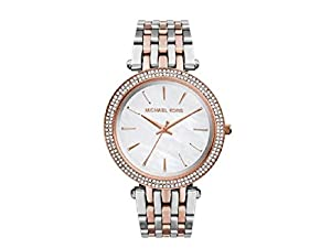 Michael Kors MK3321 Silver Rose Gold Tone Women's Watch