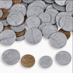 Plastic Coins (144 Piece)