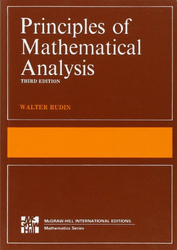 Principles of mathematical analysis (Scienze)