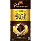 Marabou Premium Fillled LEMON & GINGER Original Swedish Dark Chocolate Bar 150gr
