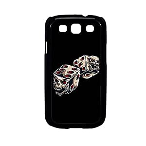 Vibhar printed case back cover for Samsung Galaxy J1 SkullDice