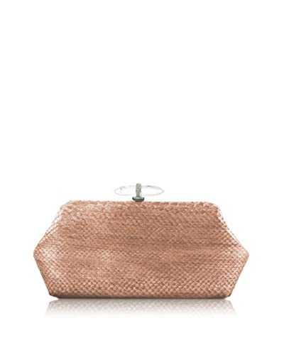 Judith Leiber Couture Women's Whitman Clutch, Silver Rose Gold