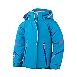 Obermeyer Kids Girl\'s Brier Jacket (Toddler/Little Kids/Big Kids) Bluebird Outerwear 7 Little Kids
