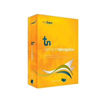 MyTopo Terrain Navigator Virgina Map CD-ROM (Windows)
