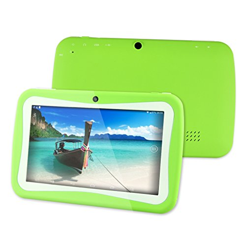 Voberry� Best Seller Educational Games App 7 inch Dual Core Children Kids Tablet PC RK3026 PAD Android 4.2 - A best birthday gift for kids (Color: Green)