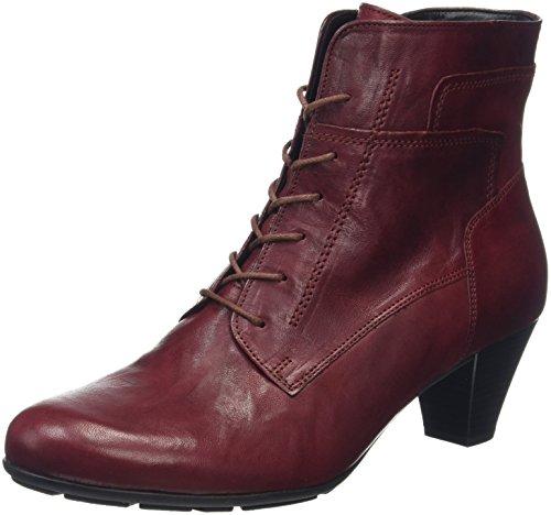 Gabor Shoes Basic, Stivaletti Donna, Rosso (Dark-Red 55), 37 EU