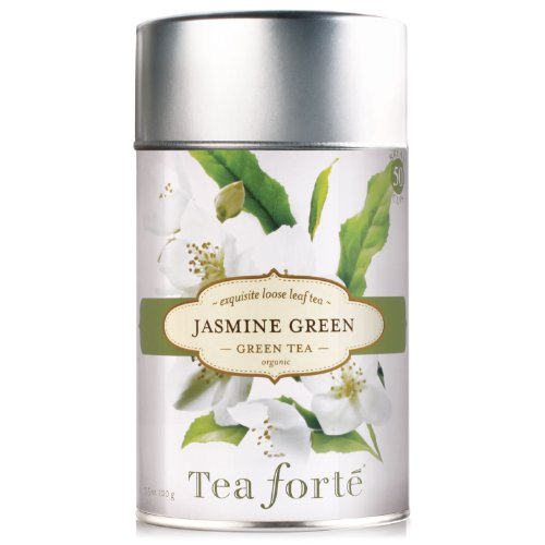 Tea Forte Loose Leaf Tea Canister - Jasmine Green