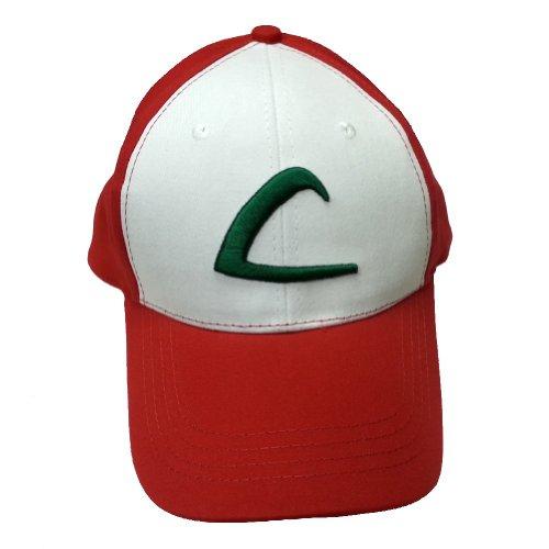 サトシ大人の野球帽オリジナル品質の帽子ポケモントレーナーコスチューム