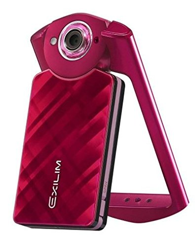 CASIO EXILIM High Speed デジタルカメラ 11.1MP 1110万画素 フリースタイルカメラ EX-TR50【並行輸入品】 (Red レッド 紅)