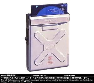 Sony MZ-EP11 Mini-Disc (MD) Walkman