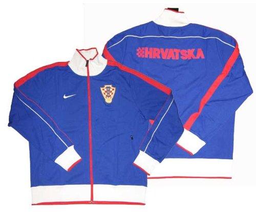 10-11 Kroatien N98 Track Jacke - blau/rot/weiß-M