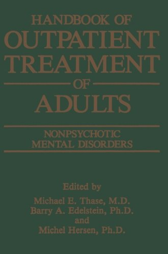 Handbook of Outpatient Treatment of Adults: Nonpsychotic Mental Disorders