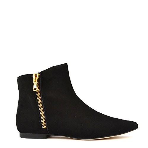Elia B Shoes Twin Set Stivaletti, Donna 37 EU Nero