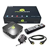 Droidplayer Android TV BOX XBMC Media Player - Free Movies and TV Comes Fully Loaded Ready To Go, Navi-X, 1Channel, Mashup, Icefilms, Jailbroken - By Sunwire®